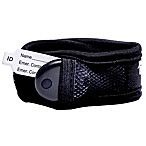 BuddyTag™ Child Safety Wristband with Hook and loop fastener® in Black