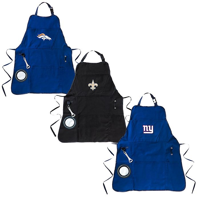 Alternate image 1 for NFL Heavy-Duty Men's Apron Collection