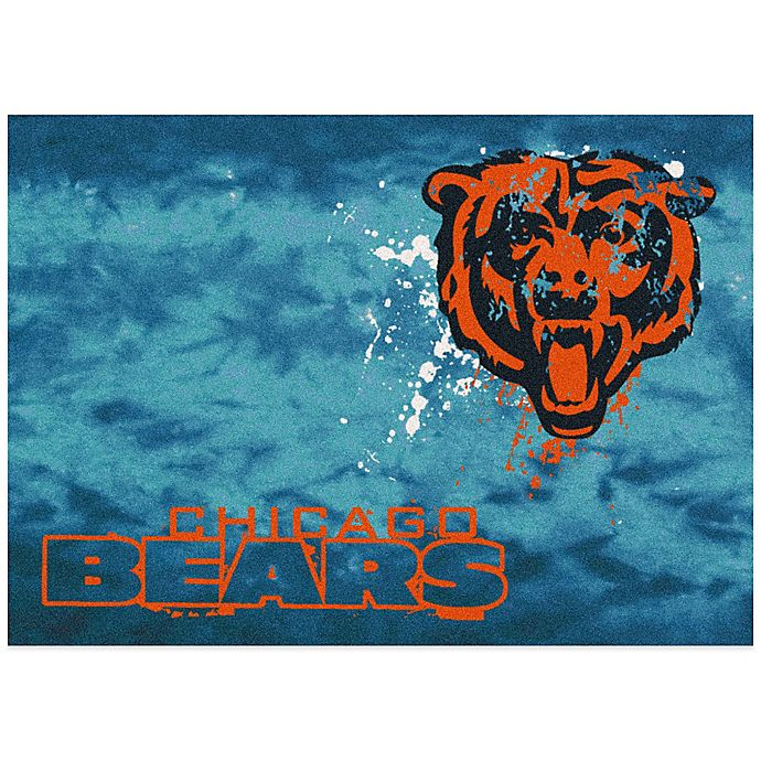 Nfl Area Rugs: NFL Chicago Bears Fade Area Rug