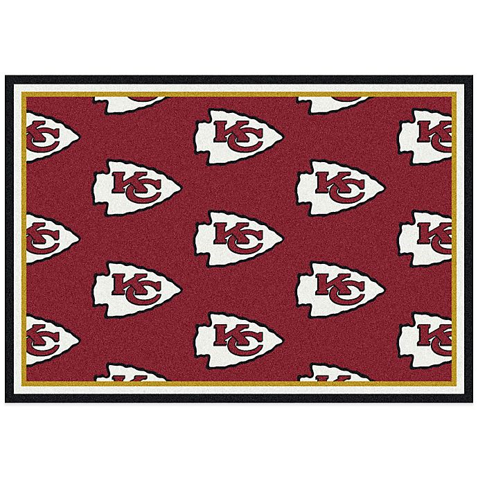 Buy NFL Kansas City Chiefs Repeating Small Area Rug From