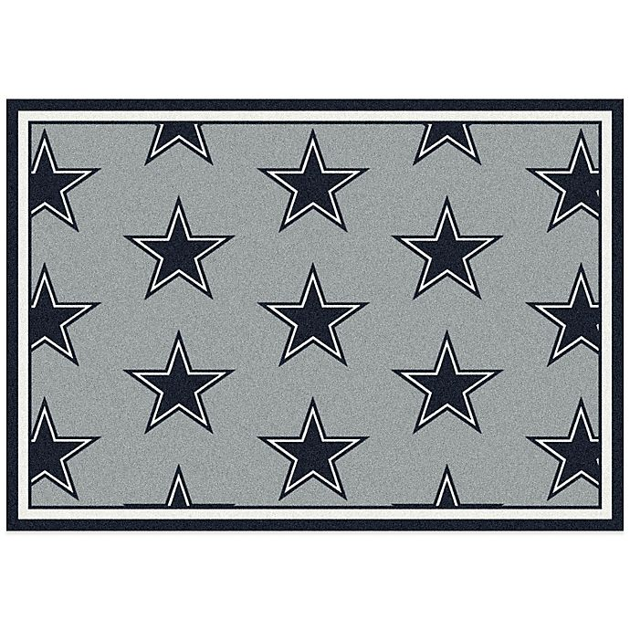 NFL Dallas Cowboys Repeating Area Rug