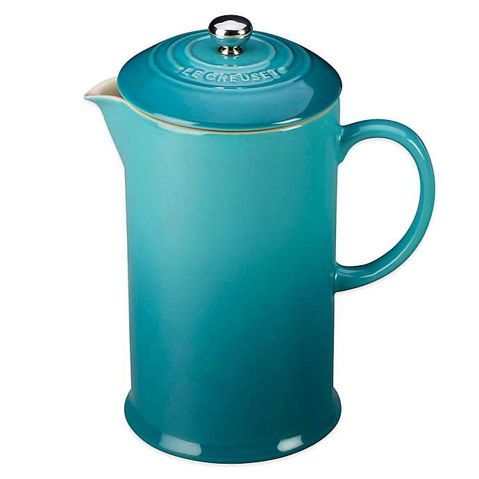 Alternate image 1 for Le Creuset® 27 oz. French Press in Carribean
