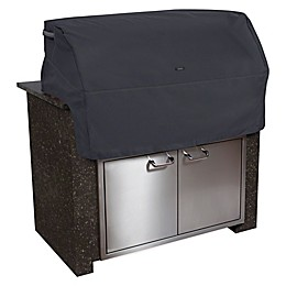 Classic Accessories® Polyester Ravenna Built-in BBQ Grill Top Cover in Black