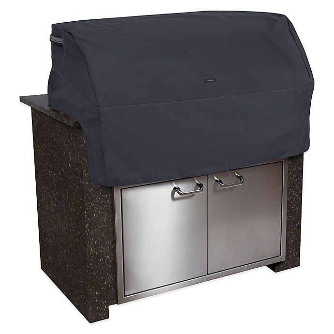 Alternate image 1 for Classic Accessories® X-Small Polyester Ravenna Built-in BBQ Grill Top Cover in Black