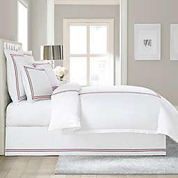 Wamsutta® Baratta Stitch Cotton 15-Inch Drop Bed Skirt