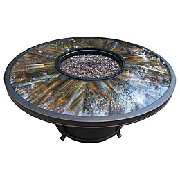Oakland Living Sunray 48-Inch Fire Pit Table