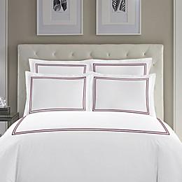 Wamsutta® Baratta Stitch Cotton Pillow Sham