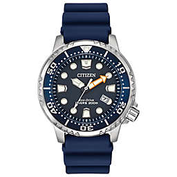 Citizen Eco-Drive Men's 42mm Promaster Professional Diver Watch in Stainless Steel with Poly Strap