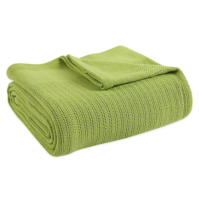 Alternate image 1 for Fiesta® Full Blanket in Lemongrass