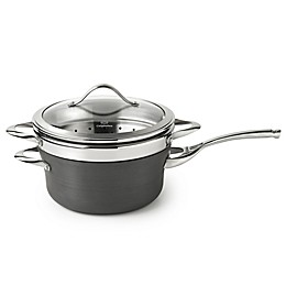 Calphalon® Contemporary Nonstick 4.5 qt. Covered Saucepan with Steamer Insert