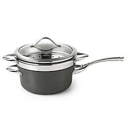 Calphalon® Contemporary Nonstick 4.5 qt. Covered Saucepan with Steamer Insert
