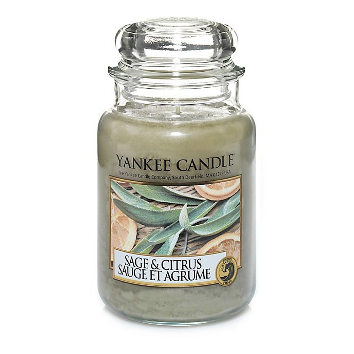 Alternate image 1 for Yankee Candle® Sage & Citrus™ Large Classic Jar Candle