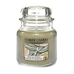Yankee Candle® Sage & Citrus™ Medium Classic Jar Candle