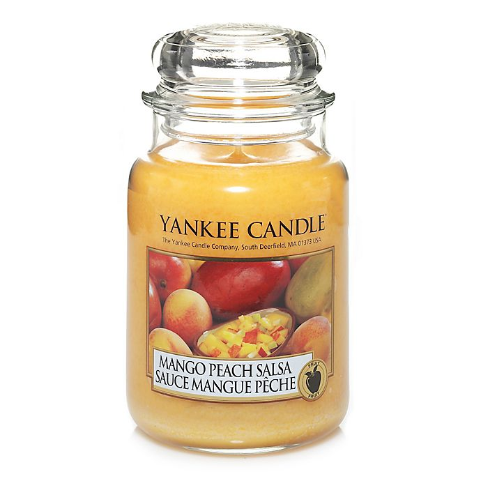 Alternate image 1 for Yankee Candle® Mango Peach Salsa Large Classic Jar Candle