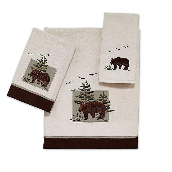 Alternate image 1 for Avanti Bear Patch Hand Towel