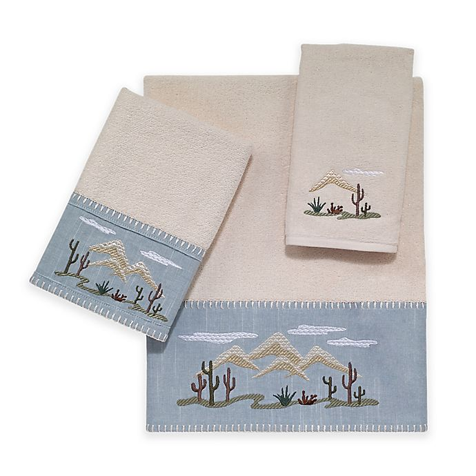 Alternate image 1 for Avanti Cactus Landscape Bath Towel