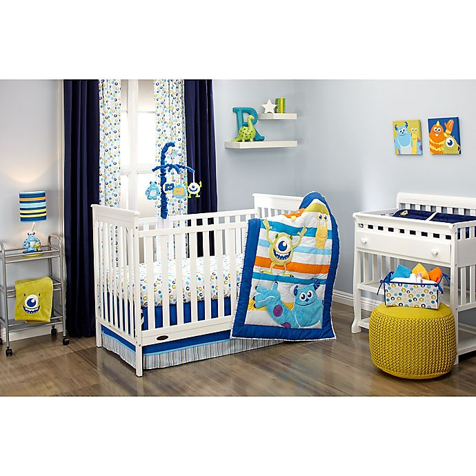 Alternate image 1 for Disney® Monsters at Play Crib Bedding Collection