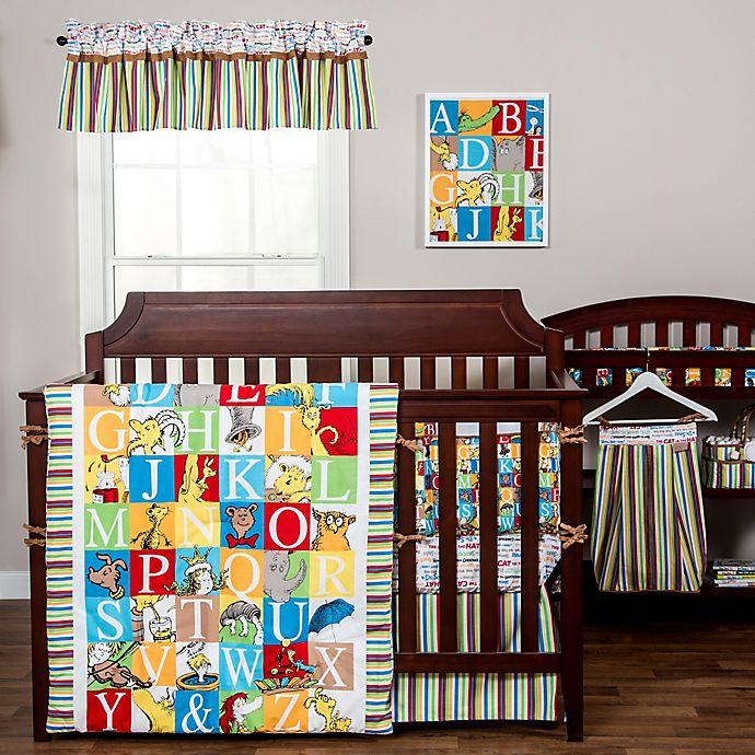 Alternate image 1 for Dr. Seuss™ by Trend Lab® Alphabet Seuss 3-Piece Crib Bedding Set