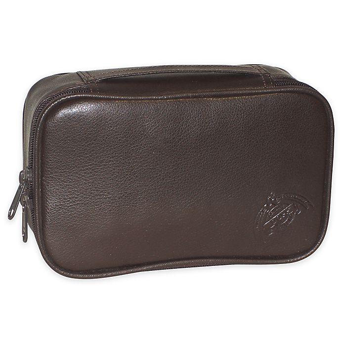 Alternate image 1 for Dopp Travel Express Mini Top-Zip Travel Kit in Brown