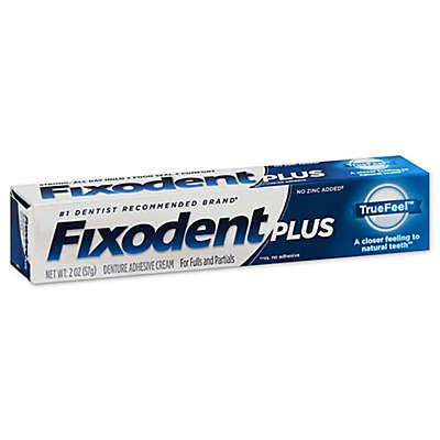 Fixodent® Plus 2 oz. TrueFeel Denture Adhesive Cream