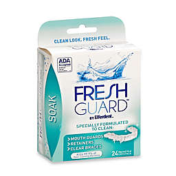 Efferdent® Fresh Guard™ Soak for Retainers, Mouthguards, and Removable Braces