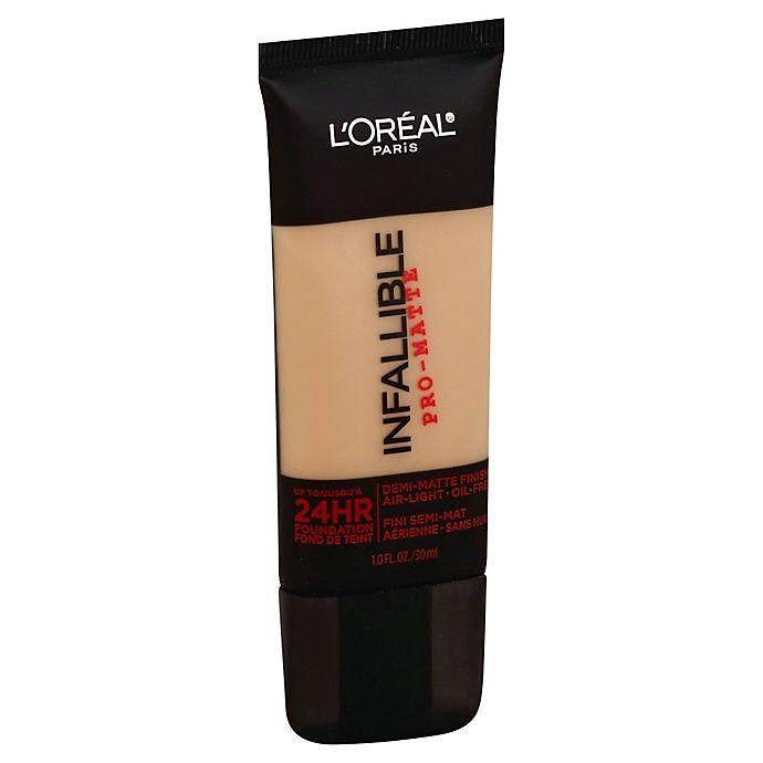 Alternate image 1 for L'Oréal® Paris Infallible® Pro-Matte Foundation in Caramel Beige