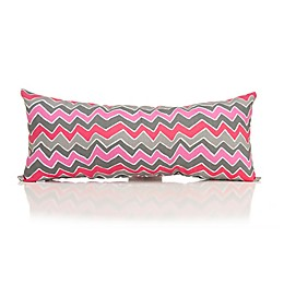 Glenna Jean Addison Zig Zag Bolster Throw Pillow