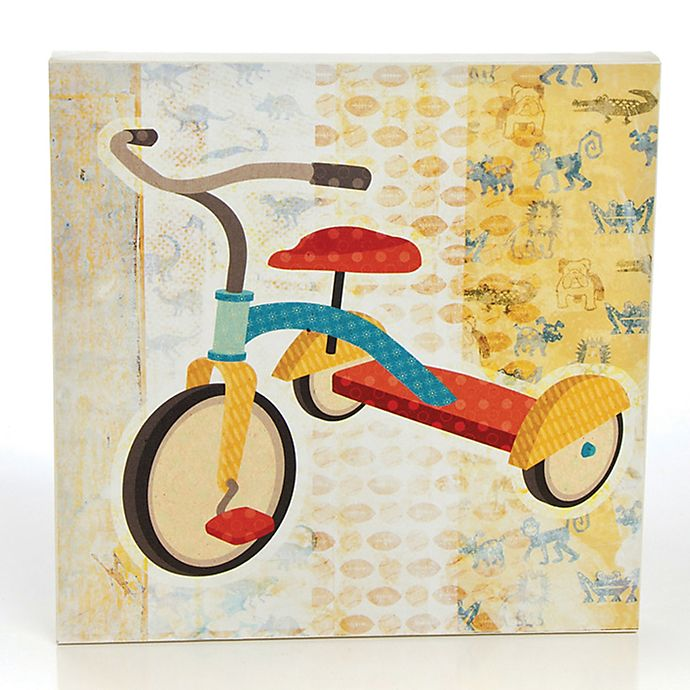 Alternate image 1 for Glenna Jean Echo Tricycle Canvas Wall Art