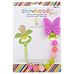 chewbeads® Butterfly  Where's the Pacifier?  Clip