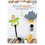 chewbeads® Dinosaur  Where's the Pacifier?  Clip
