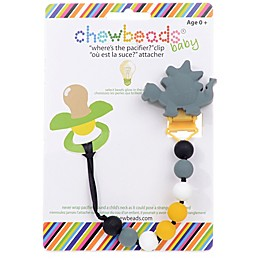 "chewbeads® Dinosaur ""Where's the Pacifier?"" Clip"