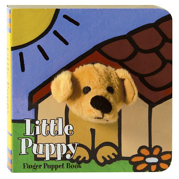 Alternate image 1 for Little Puppy: Finger Puppet Book