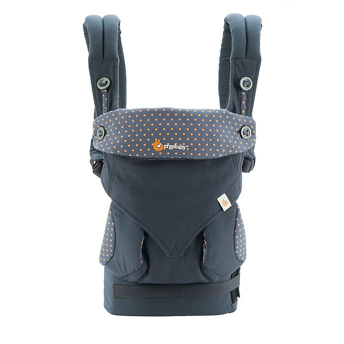 Alternate image 1 for Ergobaby™ Four-Position 360 Baby Carrier in Dusty Blue