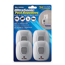 Bell & Howell 4-Pack Ultrasonic Pest Repellers