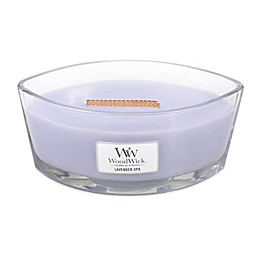 WoodWick® HearthWick Flame® Lavender Spa Large Candle