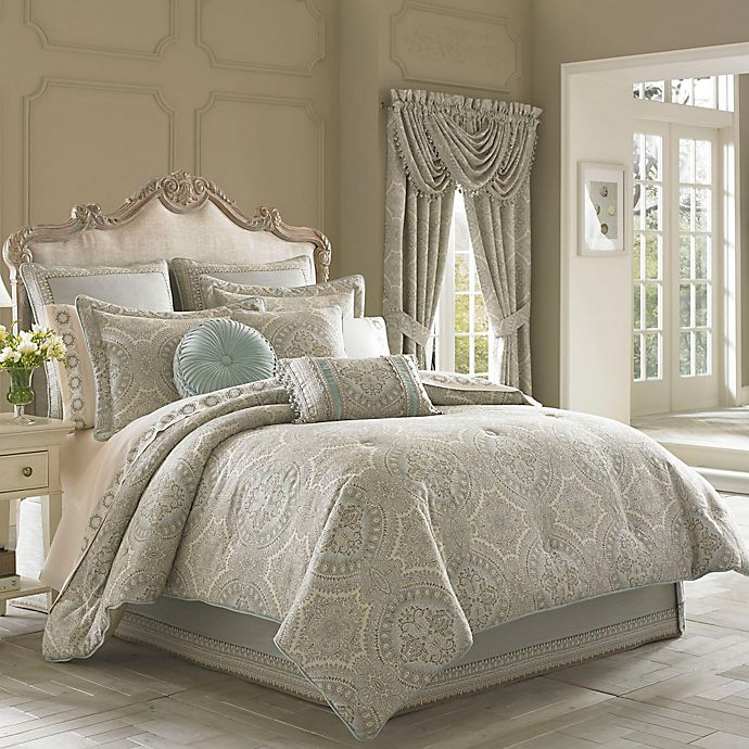 Alternate image 1 for J. Queen New York™ Colette Full  Comforter Set in Grey
