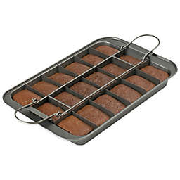 Chicago Metallic™ Slice Solutions® 2-Piece Brownie Pan Set