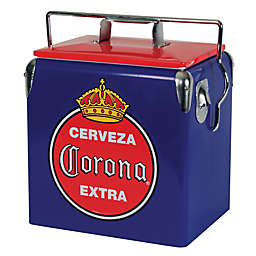 Corona® Blue Vintage Style 13-Liter Ice Chest