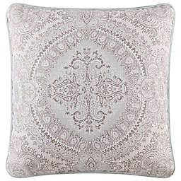 J. Queen New York™ Colette Square Throw Pillow in Blue