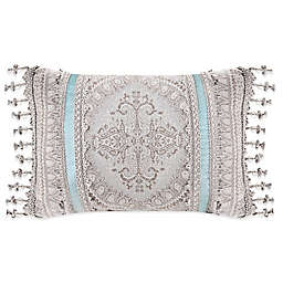 J. Queen New York™ Colette Boudoir Throw Pillow in Blue