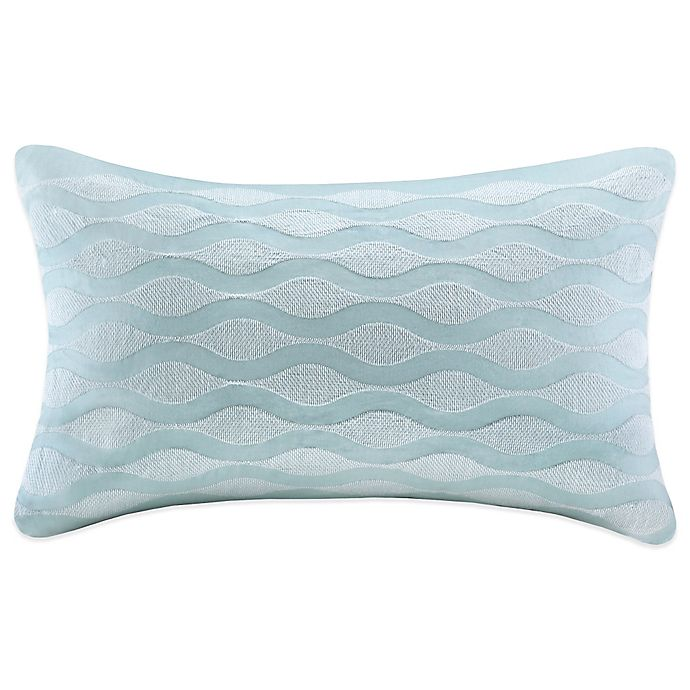 Alternate image 1 for Harbor House Maya Bay Quilted Oblong Throw Pillow