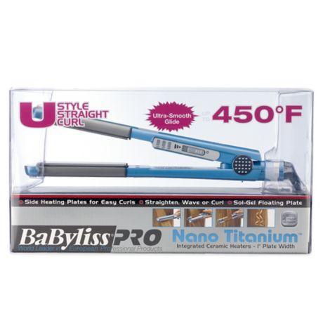 Babyliss Pro Nano 1 Inch Titanium U Styler Bed Bath Amp Beyond
