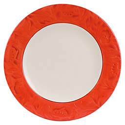 Fitz and Floyd® Flower Market Dinner Plate in Sunset Red