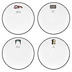 kate spade new york Concord Square™ Cause a Stir Tidbit Plates (Set of 4)