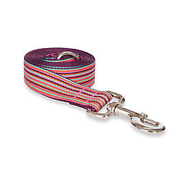 Fab Dog® 5-Foot Large Striped Leash in Pink