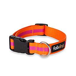 Fab Dog® Small Stripe Collar in Pink