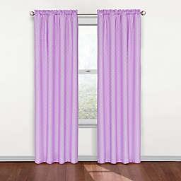 Eclipse Polka Dots Rod Pocket Room Darkening Window Curtain Panel
