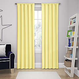 Solar Shield Microfiber Rod Pocket Room Darkening Window Curtain Panel