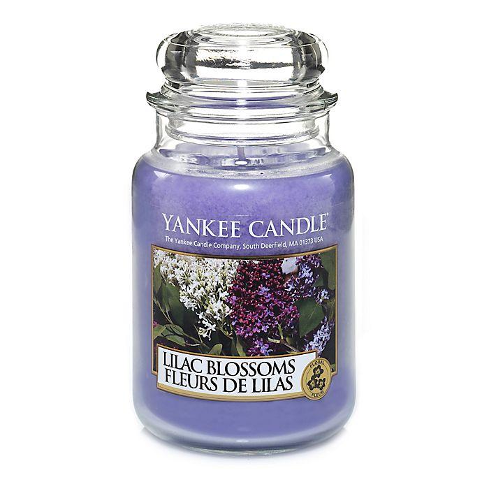 Alternate image 1 for Yankee Candle® Lilac Blossoms Large Classic Jar Candle