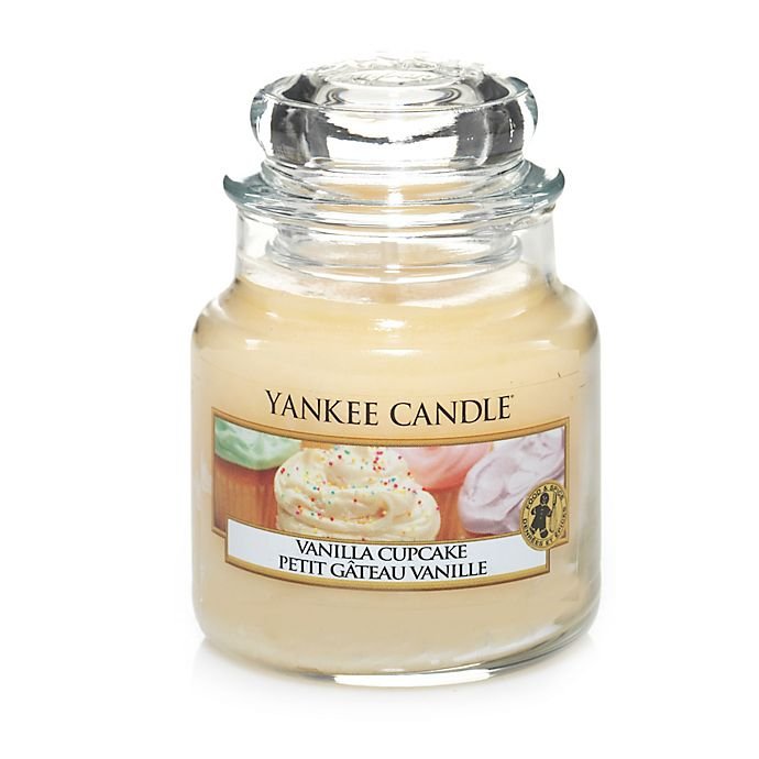 Alternate image 1 for Yankee Candle® Vanilla Cupcake™ Small Classic Jar Candle